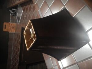 brown lamp shade, never used 20