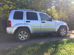2007 Jeep Liberty Limited Edition 4X4 SUV Crossover