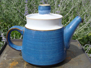 DENBY CHATSWORTH TEAPOT, CEREAL / OPEN VEGETABLE BOWLS London Ontario image 3