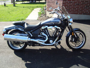 2007 Yamaha Warrior 1700 with Factory Flames
