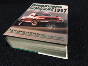 93-97 Chiltons truck and van repair book