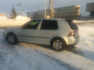 2000 Volkswagen  golf hathback .
