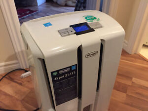 Delonghi dehumidifier and air purifier:  Practically brand new!