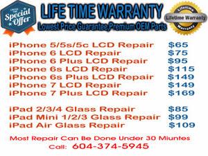 iPhone 5,5c,5s LCD Repair 20 minutes