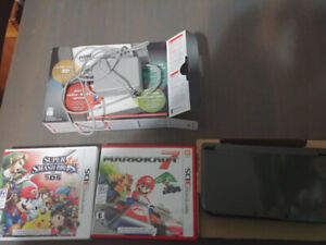 Nintendo 3DS w/ 2 games, charger and box. Need gone asap!
