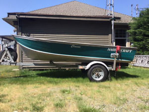 Ready to go fishing?  12' Classic Harbercraft Package,