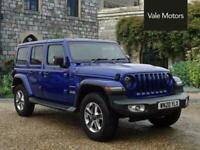 2020 Jeep Wrangler 2.2 MultiJet II Sahara Auto 4WD (s/s) 4dr SUV Diesel Automati