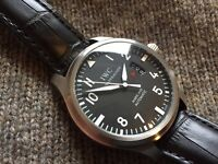 IWC Mark XVII 17 Fliegeruhr pilot aviator military watch