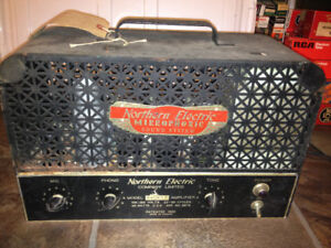Northern Electric Sound Equipment PA Stereo Recording Tubes