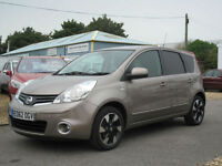 2012 NISSAN NOTE 1.4 16v N-TEC +HATCH - ONE OWNER - OVER 50+ MPG !!