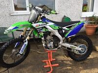 Kxf 250 2013 swap road legal 125 or quad
