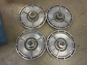 Chevrolet SS Hubcap $100. set of four. Chrome Derby caps $20.