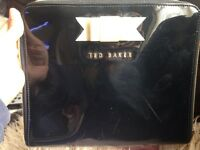 Ted Baker patent black iPad case