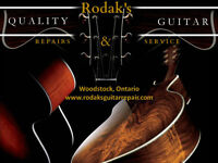 Rodaks Quality Guitar Repair and Service
