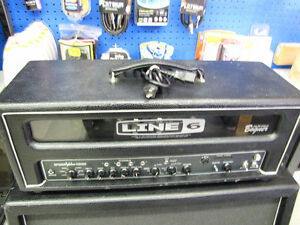 Line 6 Spider Valve HD100 Amp and Cabinet