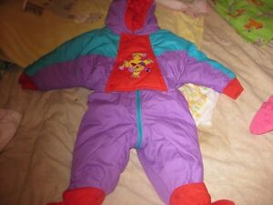 3 to 6 months snowsuit