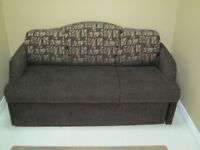 Brown Murphy Bed Sofa