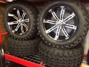 "Golf Cart Tires & RIM's, Alloy Rims for sale! 10-14"" Kitchener / Waterloo Kitchener Area image 3"