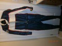CUSTOM MADE LEATHER SUIT FOR RACING  OR MOTOR CYCLE