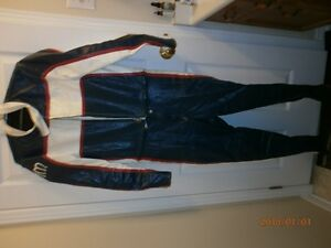 CUSTOM MADE LEATHER SUIT FOR RACING  OR MOTOR CYCLE London Ontario image 1