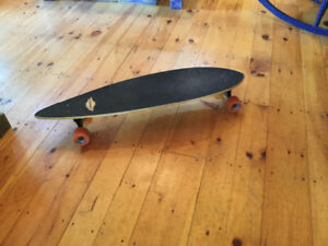 Long board, as shown. In very good shape, not used much