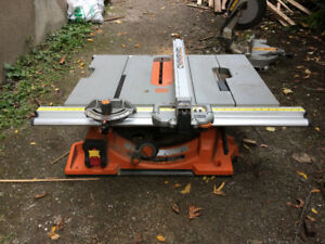 Banc scie RIDGID/Table saw