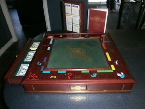 THE FRANKLIN MINT  MONOPOLY COLLECTOR'S- EDITION DELUXE ; 1991