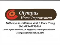 Olympus bathrooms and tiling installation Tilers wall and floor fitter