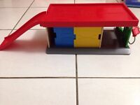 Garage and Cars playset