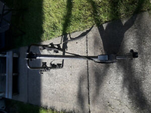 Trailer hitch bike rack $50