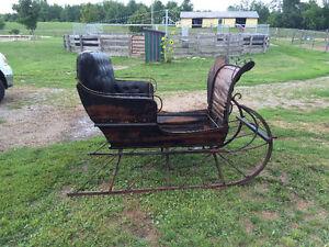 1900 vintage Canada Carriage sleigh