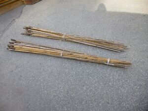 sturdy bamboo stakes for garden