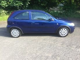 Vauxhall corsa 1.2 active special edition met/blue 2004 new mot lots of extras
