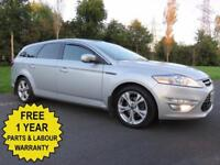 2012 FORD MONDEO 1.6 TDCI 115 BHP ESTATE** TITANIUM X ** HUGE SPEC ** £30 TAX
