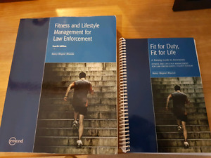 Fitness and lifestyle management for law enforcement