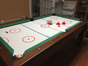 Billiard/ air hockey table 7'x 4'
