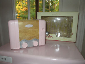 Pottery Barn Kids Pink Wooden Toaster