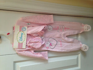 4 piece Pink piglet sleeper set -new with tags St. John's Newfoundland image 1