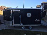 8.5 X 16 Mirage snowmobile trailer