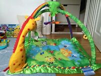 BABY GYM rain forest by fisher price
