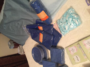 Baby shower items all new for a boy or girl. All u need to party