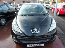 PEUGEOT 207 1.4 active 2011 Petrol Manual in Black