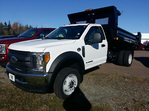 BRAND NEW- 2017 Ford F-550 XL with Dump Body