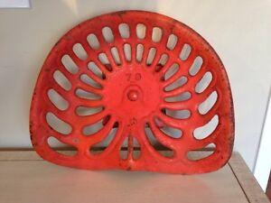 Antique Cast iron no 79 tractor seat. Farm tool, bar stool