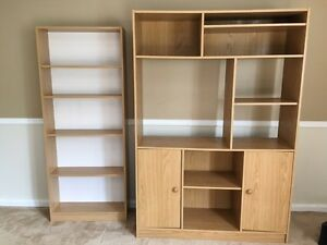 Book shelf and wall-unit