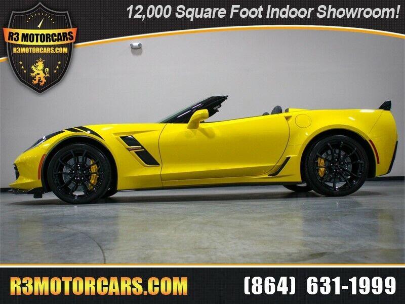 2019 Yellow Chevrolet Corvette Convertible 3LT | C7 Corvette Photo 1