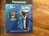 Panasonic wet/ dry 3 blade clean cut system