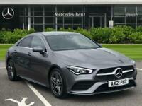 2021 Mercedes-Benz CLA CLA 180 AMG Line Premium 4dr Tip Auto Coupe Petrol Automa