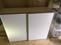 IKEA WALL UNIT - £35 ono - SHELVING WITHIN - EXCELLENT STORAGE - CALL/TEXT DIRECT - 07943 192 639