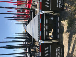 NEW TIMMINS LOGGING TRAILERS AVAILABLE FOR IMEDIATE DELIVERY,